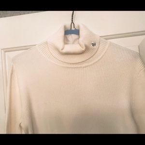 Ralph Lauren Short-Sleeve Sweater-M- Winter White
